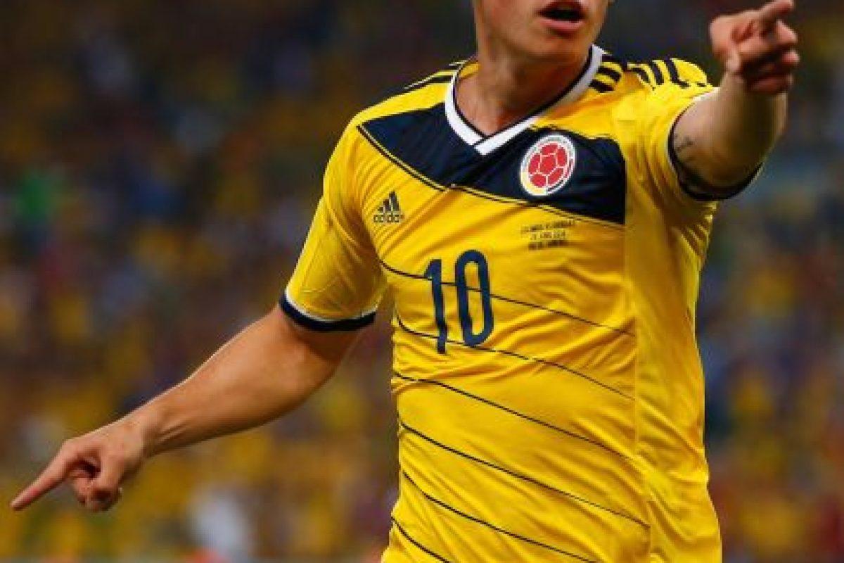 James Rodríguez (Colombia) Foto:Getty Images. Imagen Por: