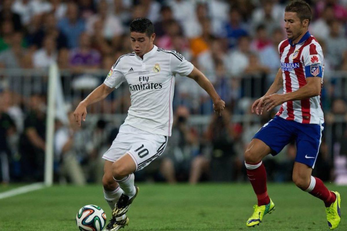 James ante el Atlético de Madrid en la Supercopa de España. Foto:Getty Images. Imagen Por: