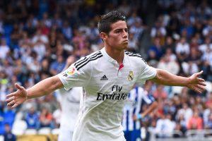 James Rodríguez ha estado presente en todos los encuentros del Real Madrid. Foto:Getty Images. Imagen Por: