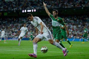 James Rodríguez ante el Elche. Foto:Getty Images. Imagen Por:
