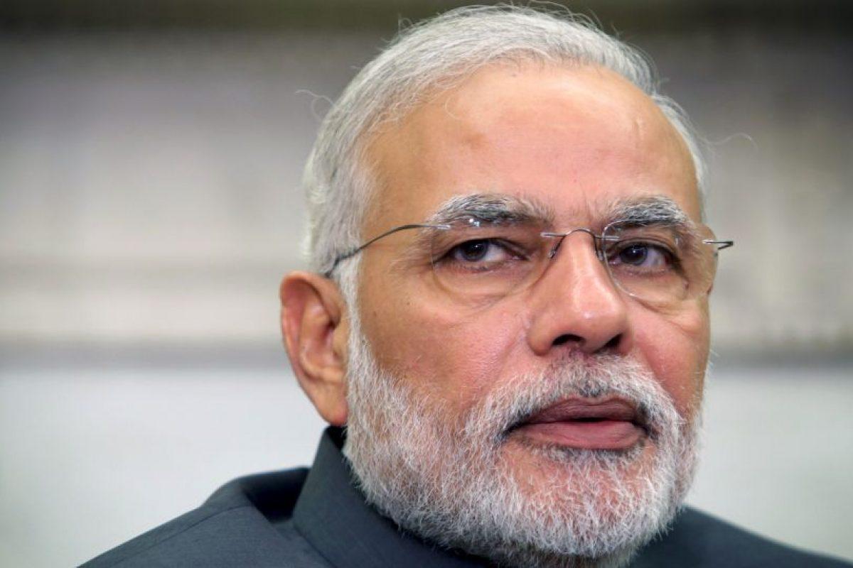 Narendra Modi, desde el 26 de mayo de 2014 es el primer ministro de India. Foto:Getty Images. Imagen Por:
