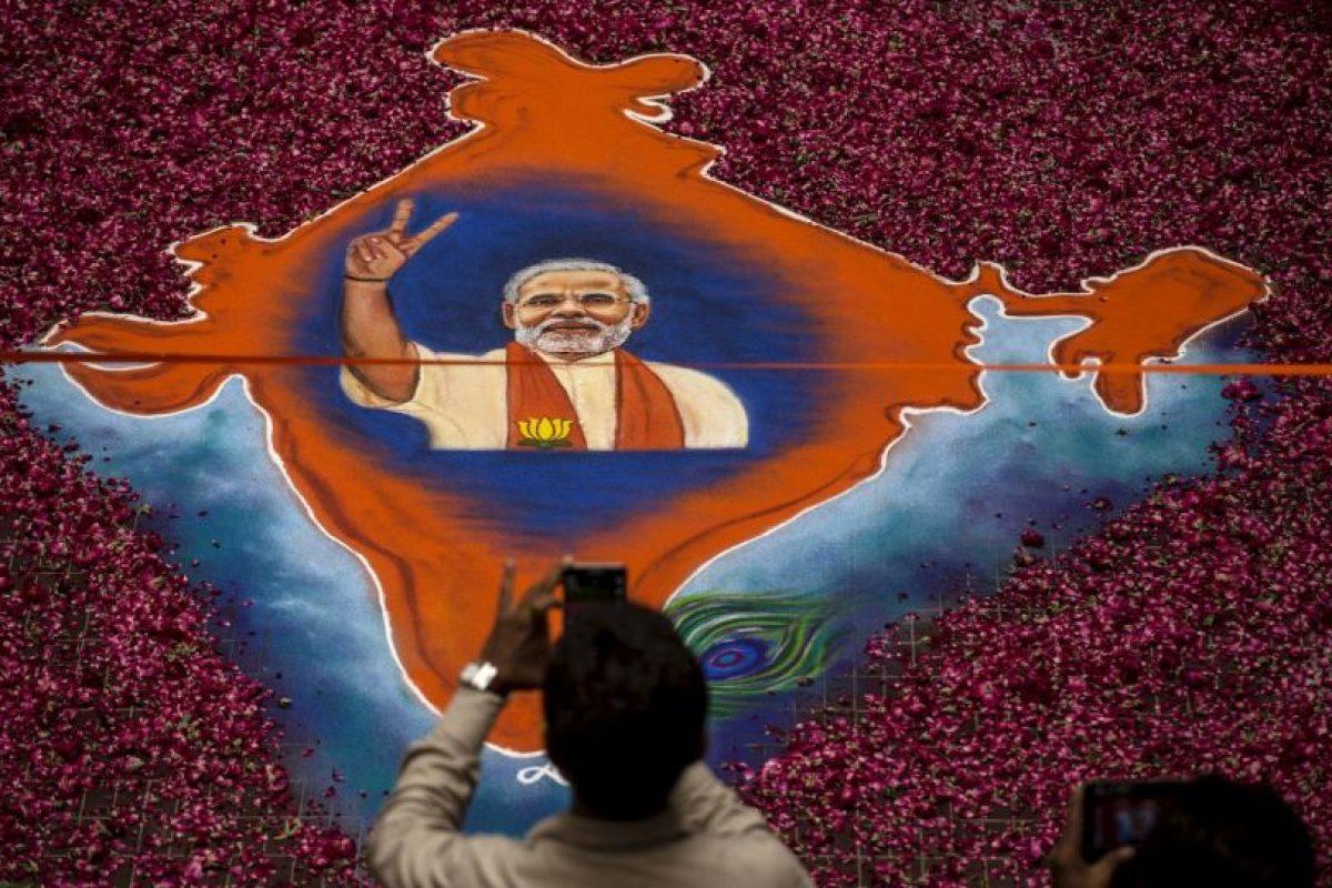 Modi obtuvo una victoria aplastante en las elecciones de India. Foto:Getty Images. Imagen Por: