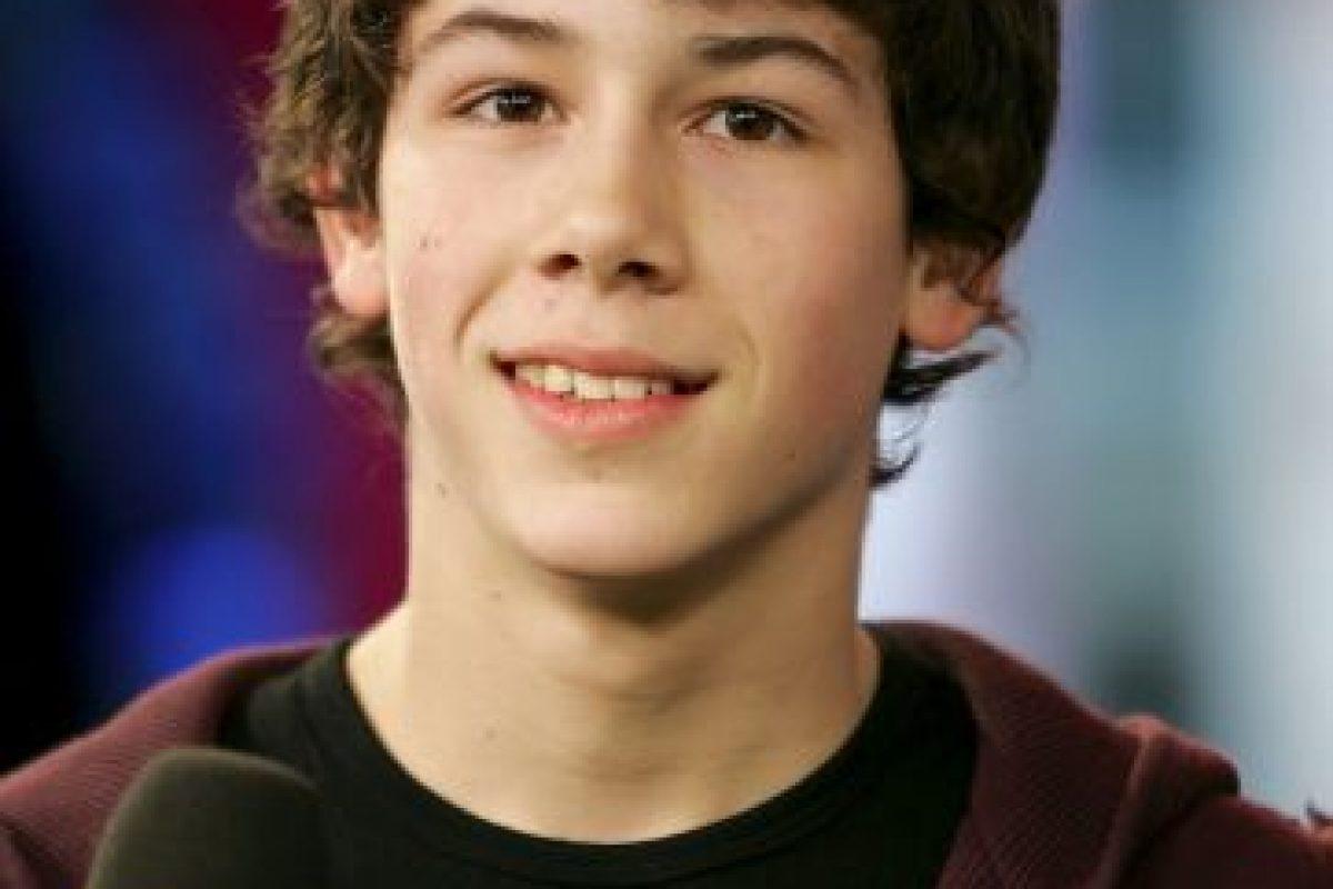 """Nick Jonas era el baterista de los """"Jonas Brothers"""" en el 2005 Foto:Getty Images. Imagen Por:"""