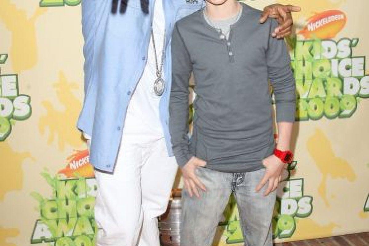 Justin Bieber, en sus comienzos (2008) Foto:Getty Images. Imagen Por: