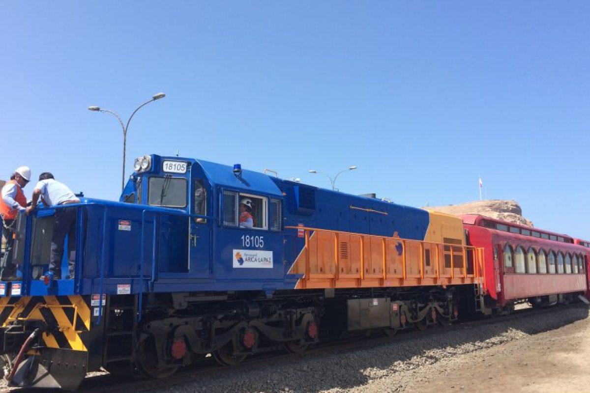 Foto:Ferrocarril Arica-La Paz. Imagen Por: