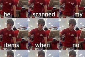 """""""Escaneó mis productos cuando nadie más lo hizo"""" Foto:Vía Twitter. Imagen Por:"""