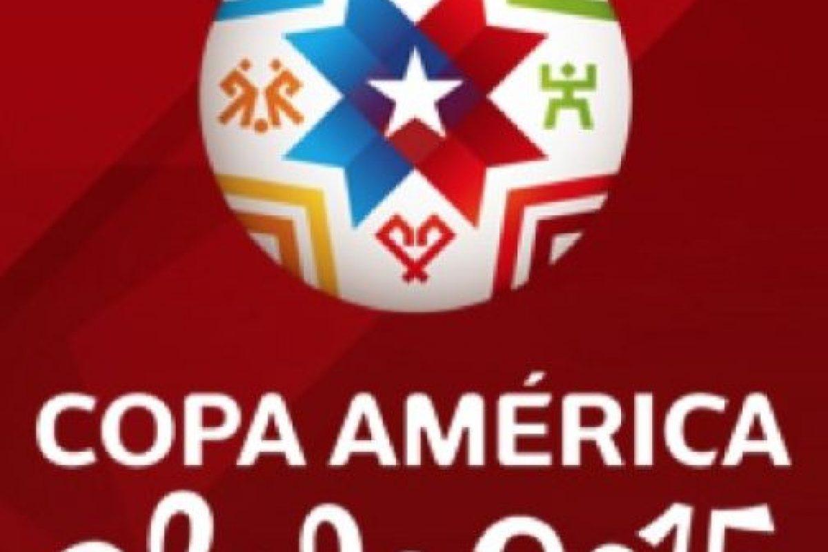 El lOgo de la Copa América Chile 2015. Foto:facebook.com/copaamerica. Imagen Por: