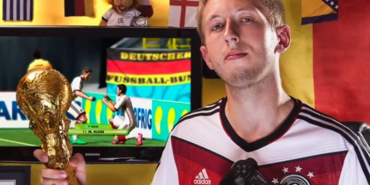 Gamer anota 321 goles en un partido del videojuego FIFA