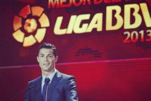 Mejor delantero de la Liga BBVA 2013-2014. Foto:¡nstagram.com/cristiano. Imagen Por: