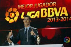 Mejor jugador de la Liga BBVA 2013-2014. Foto:twitter.com/LaLiga. Imagen Por: