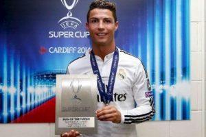 Jugador del partido de la Supercopa de la UEFA. Foto:twitter.com/realmadrid. Imagen Por: