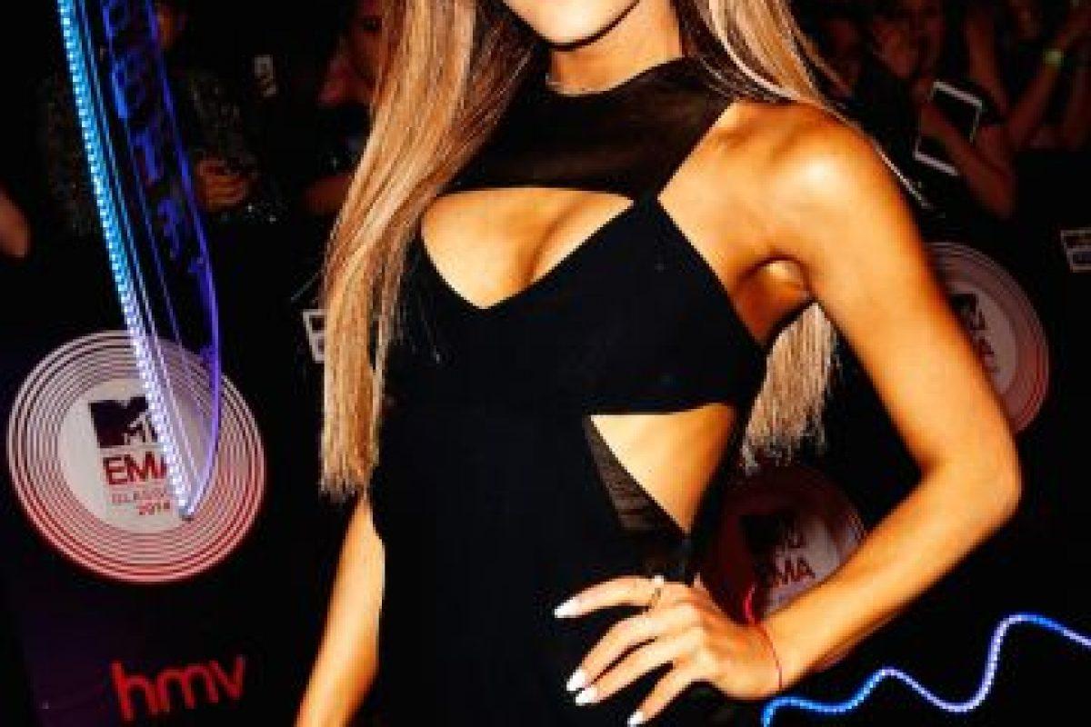 Ariana Grande hoy (21 años) Foto:Getty. Imagen Por: