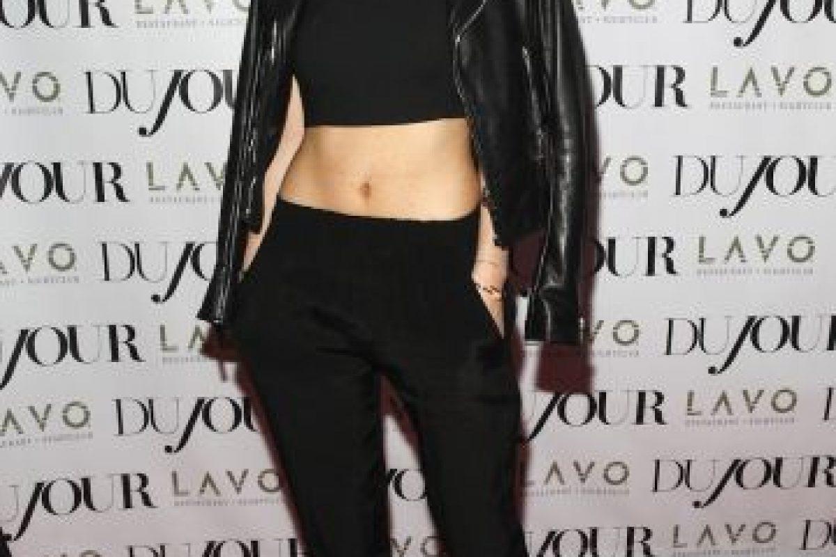 Kylie Jenner hoy (17 años) Foto:Getty. Imagen Por: