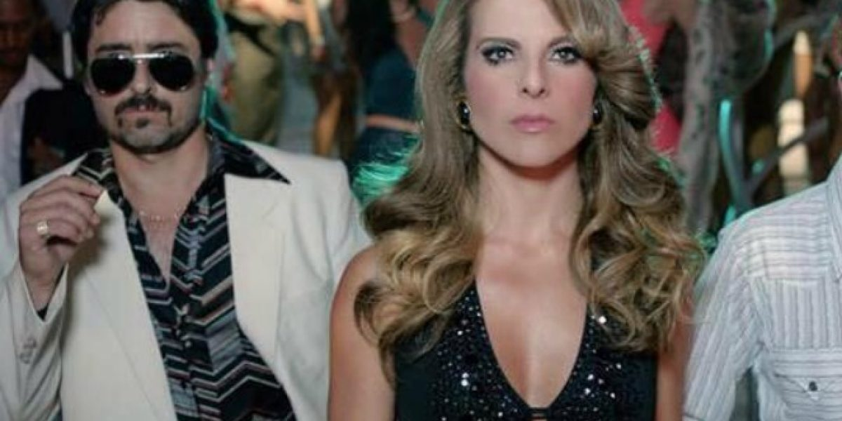 El look ochentero de Jorge Zabaleta en teleserie estadounidense