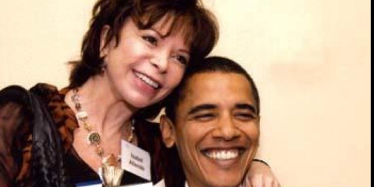 Obama reconoce a Isabel Allende con importante premio