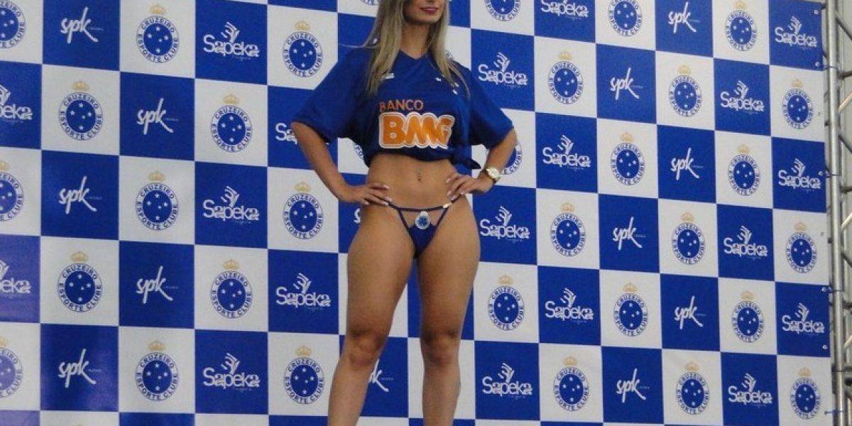 Se pasaron: Cruzeiro lanzó linea de ropa interior con sexy desfile