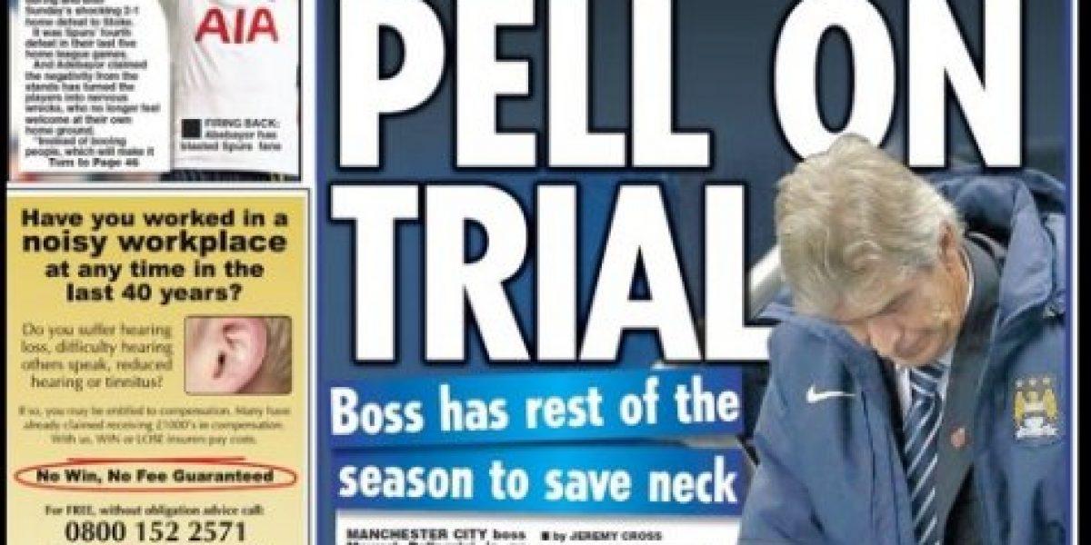Con la soga al cuello: Pellegrini estará en constante evaluación en el City