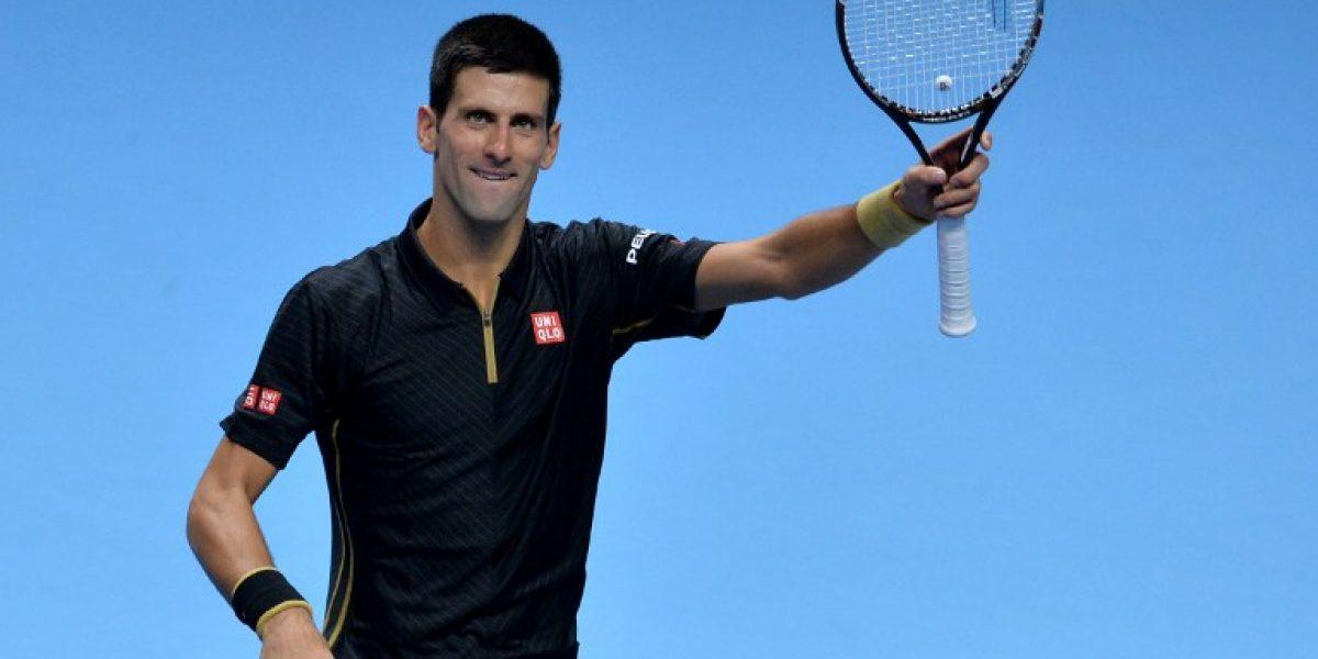 Djokovic y Wawrinka debutaron con la aplanadora en el Masters
