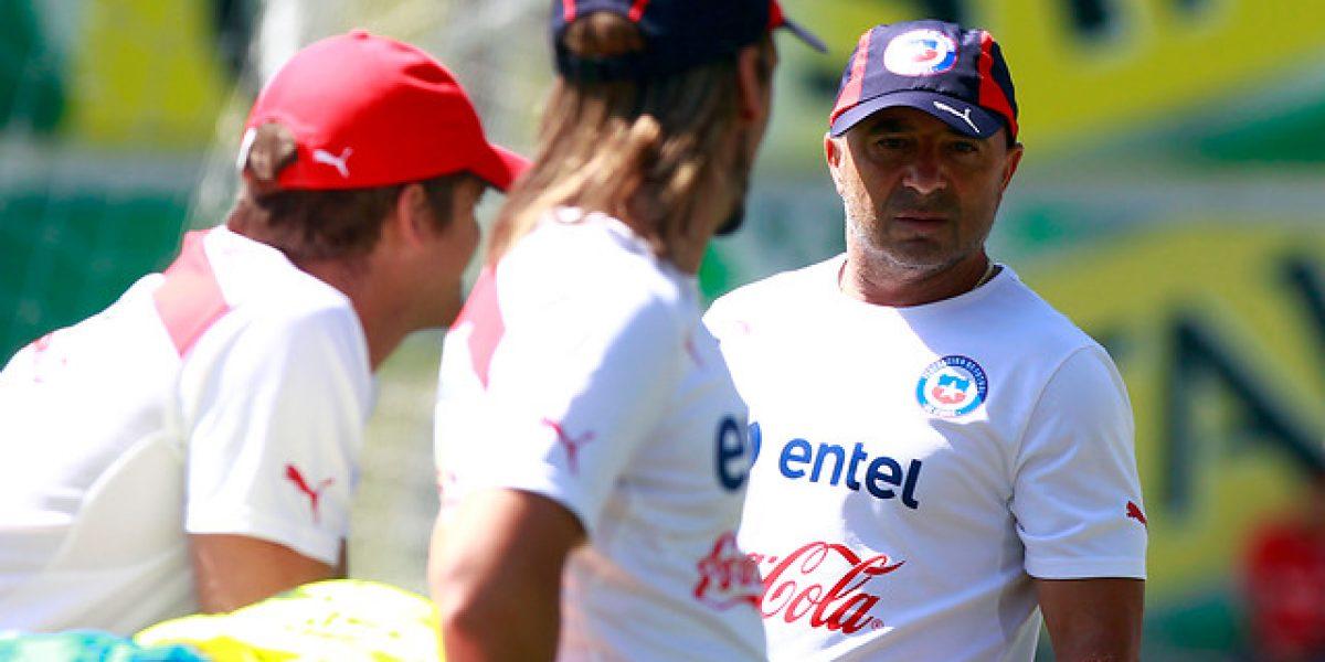 Qué sonrisa Mago: Valdivia destacó en el primer entrenamiento de la Roja