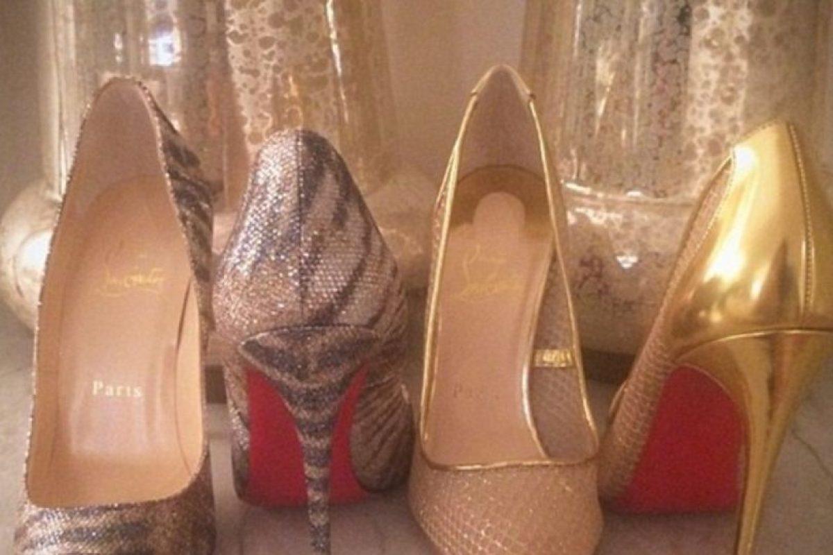 Qué zapatos Prada ponerse. Foto:Dorothy Wang/Instagram. Imagen Por: