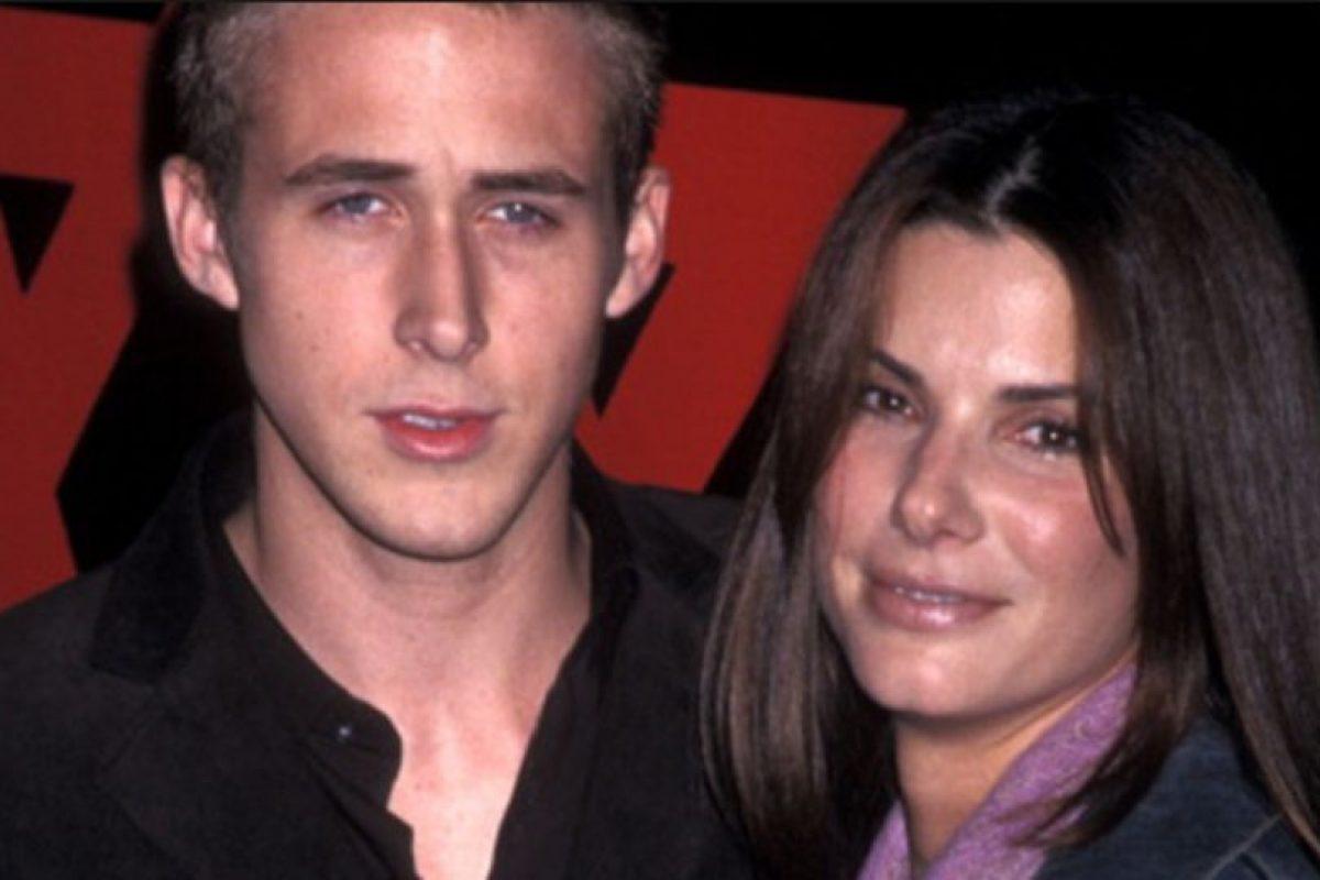 Ryan Gosling, cuando salía con Sandra Bullock. Foto:Tumblr. Imagen Por: