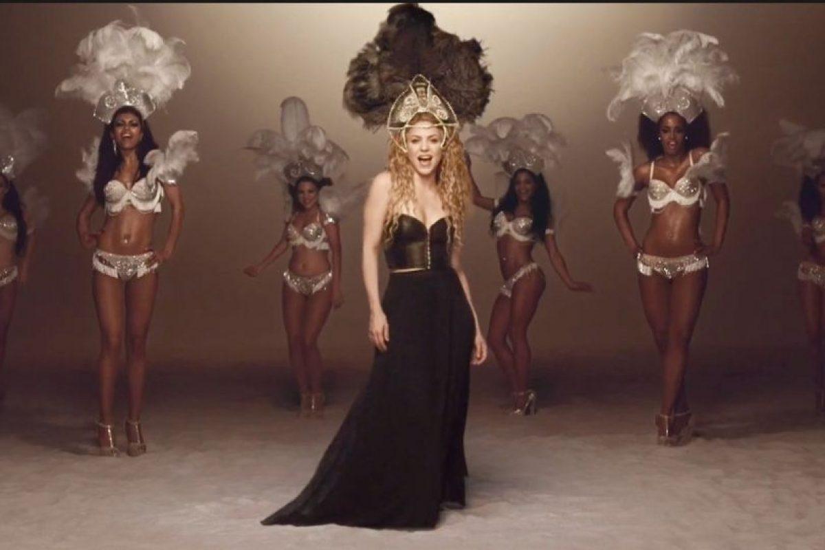 """Así se le vió en """"Dare Lalala"""", video sacado para el Mundial Brasil 2014 Foto:Shakira/Facebook. Imagen Por:"""