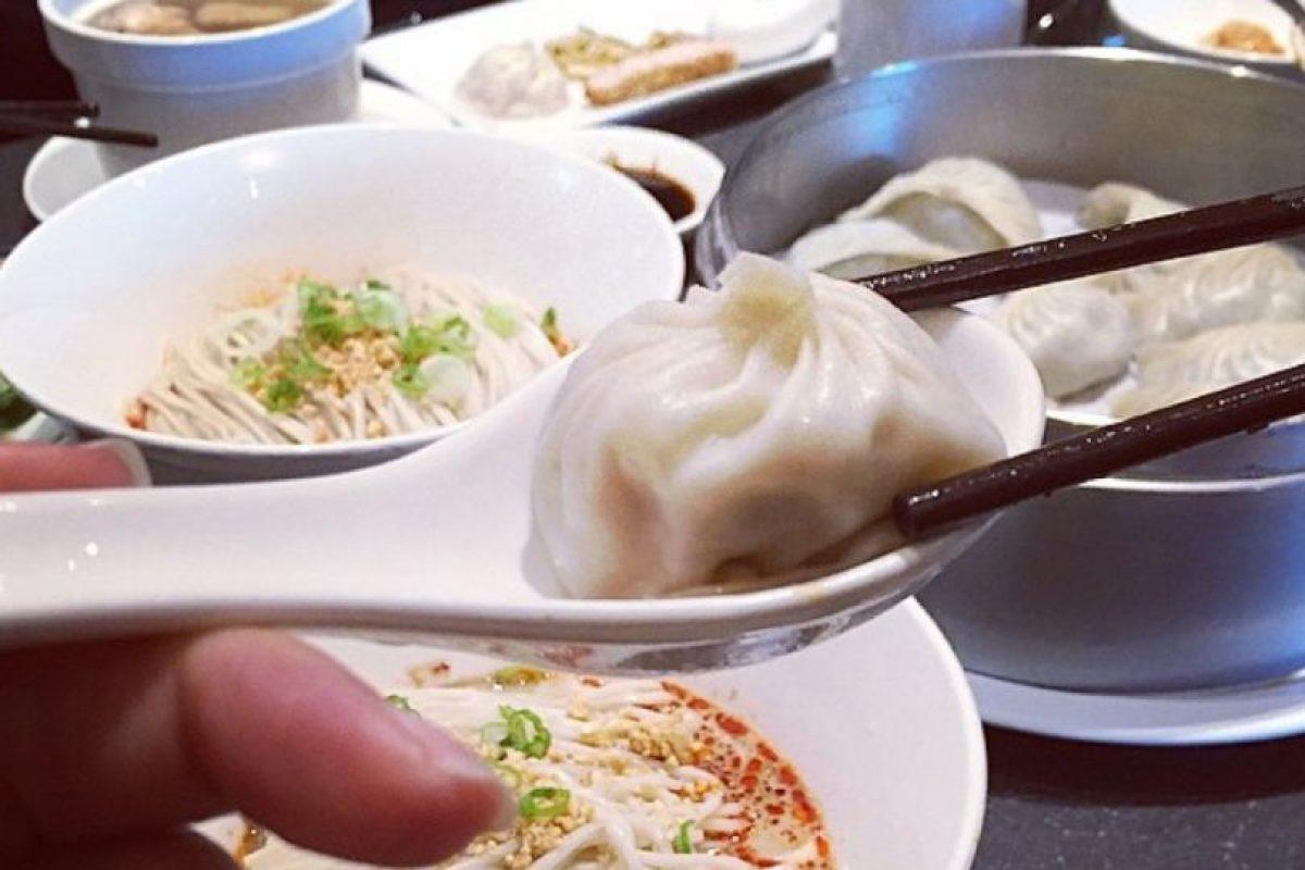 Y almuerza con lo mejor. Foto:Dorothy Wang/Instagram. Imagen Por: