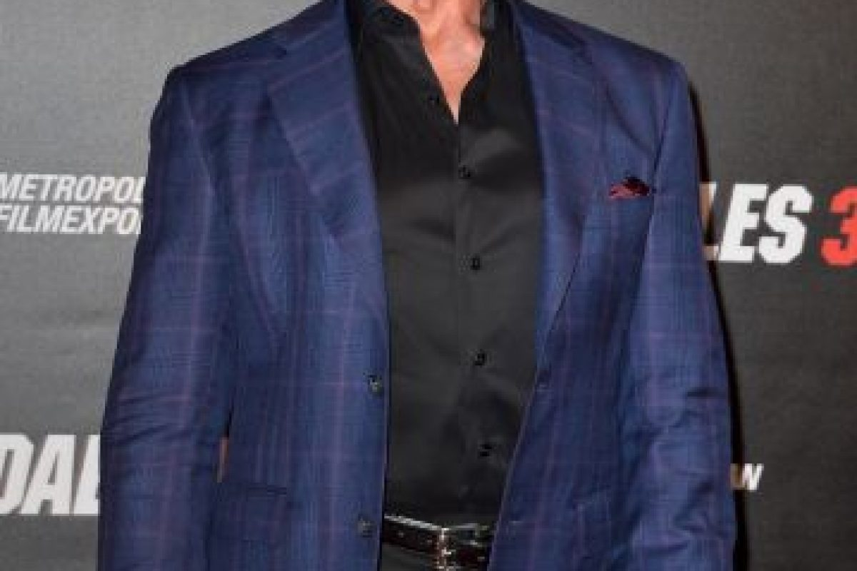 "Sylvester Stallone criticó el actor de ""Duro de Matar"" en Twitter Foto:Getty Images. Imagen Por:"