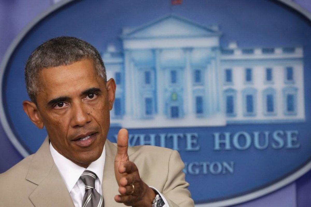 2. El presidente de Estados Unidos Barack Obama anunció que enviará mil 500 soldados a Irak. Foto:Getty. Imagen Por: