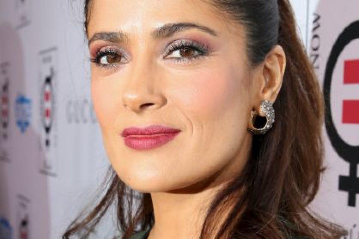 2014, Salma Hayek Foto:Getty Images. Imagen Por:
