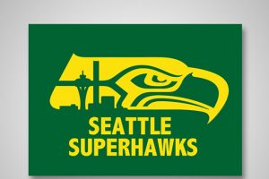 Seattle Supersonics x Seattle Seahawks Foto: DaylySnark. Imagen Por:
