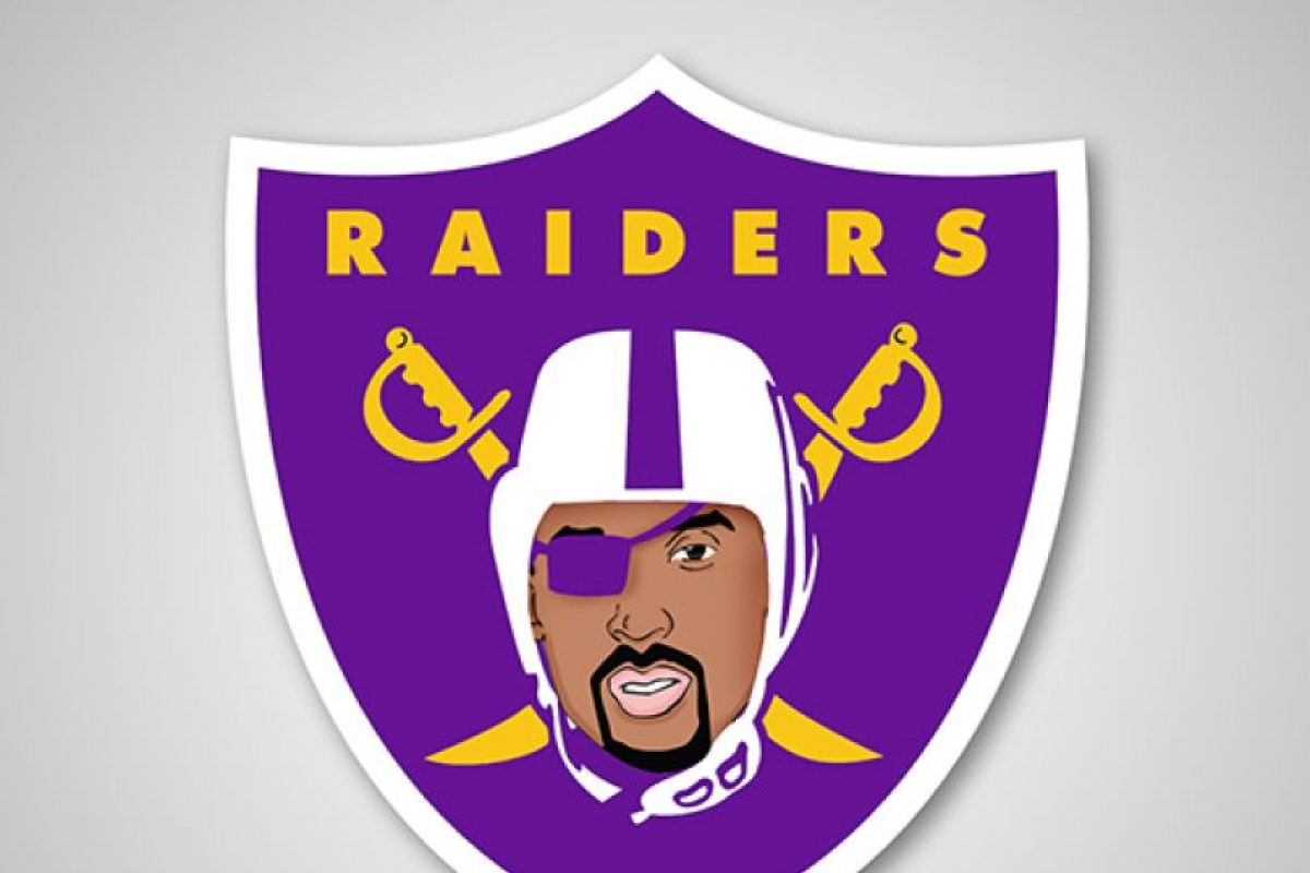 Los Angeles Lakers y Oakland Raiders Foto: DaylySnark. Imagen Por: