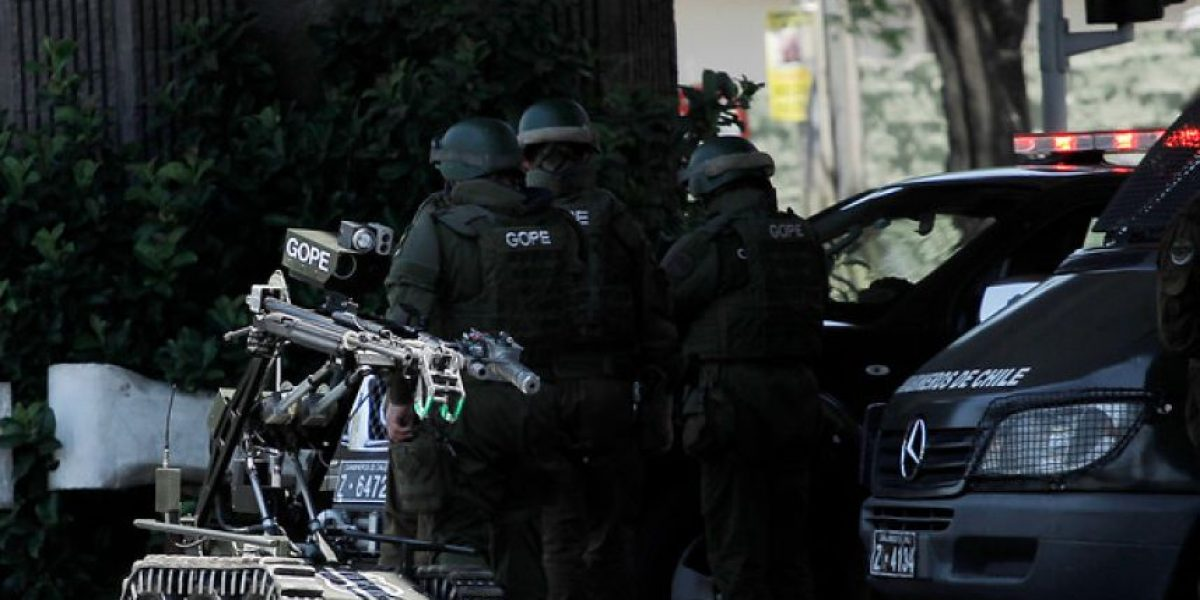 Aviso de bomba hace desalojar el edificio municipal de Recoleta