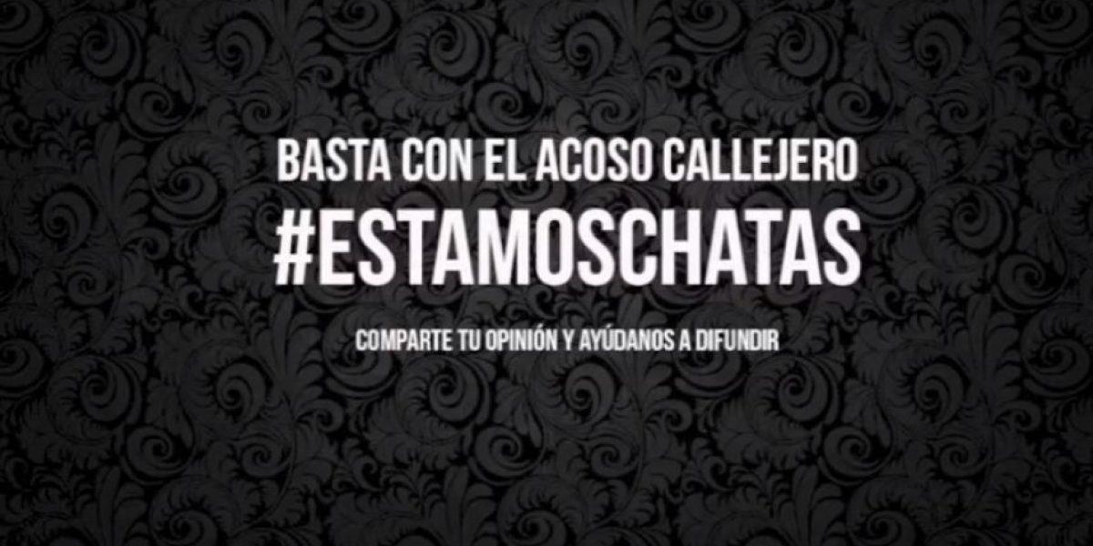 #estamoschatas la nueva campaña que busca terminar con los 'piropos'