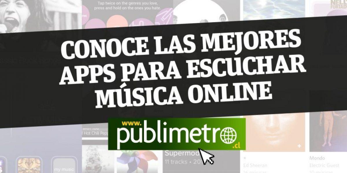 (Infografía) ¿Cuáles son las mejores APPs para escuchar música en tu móvil o tablet?