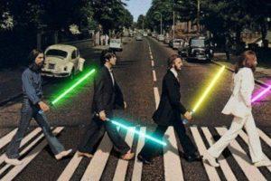 "The Beatles al estilo de ""Star Wars"" Foto:Twitter. Imagen Por:"