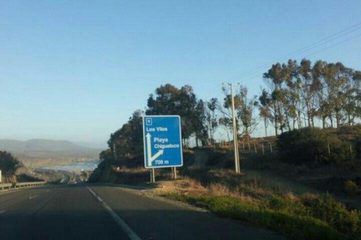 Chigualoco, Región de Coquimbo. Foto:Twitter @enrique_matus. Imagen Por: