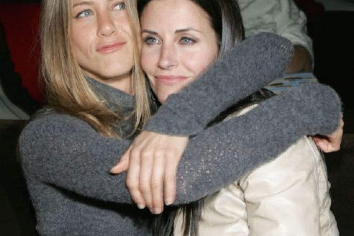 Jennifer Aniston y Courteney Cox Foto: Getty. Imagen Por: