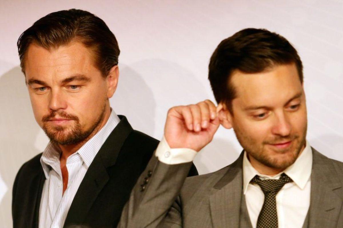 Tobey Maguire y Leonardo DiCaprio Foto: Getty. Imagen Por: