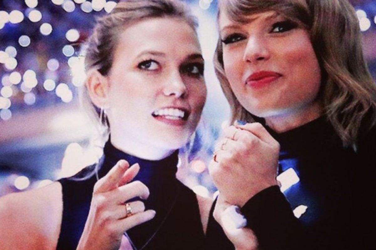 Taylor Swift y Karlie Kloss Foto:TaylorSwift vía Instagram. Imagen Por: