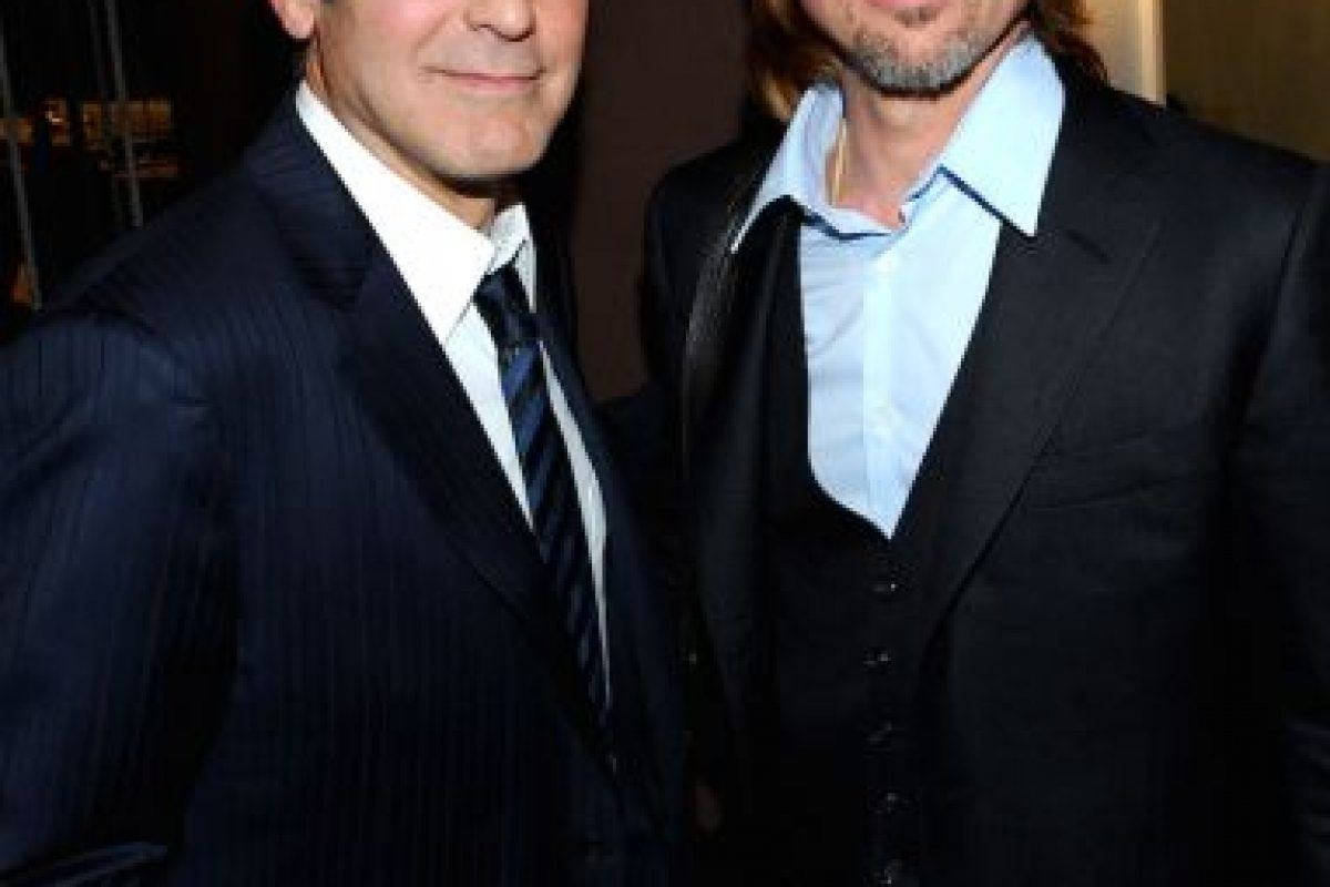 George Clooney y Brad Pitt Foto:Getty. Imagen Por: