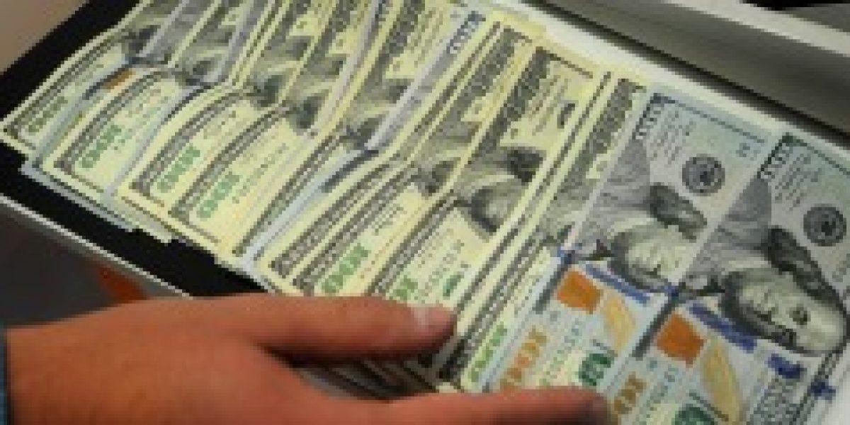 Dólar nuevamente se ubica por sobre los $590