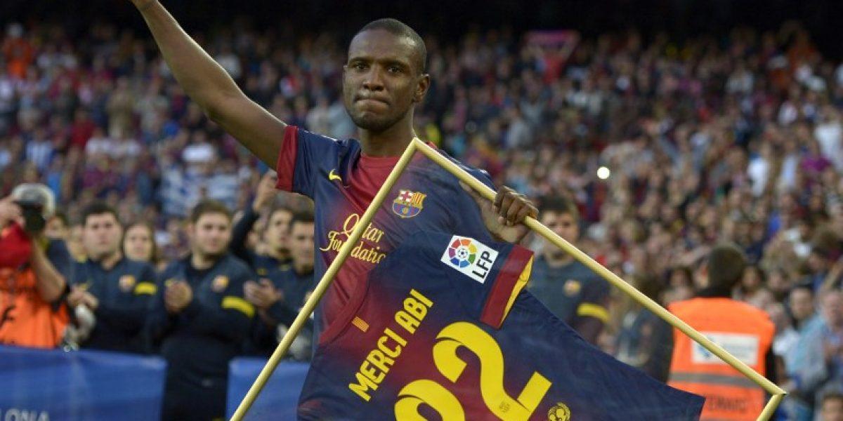 Vuelve para quedarse: Eric Abidal retornará a Barcelona para ser dirigente