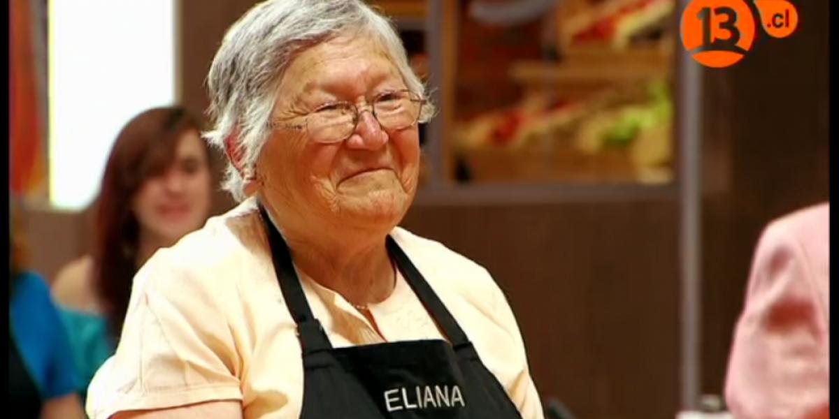 La divertida y jugada selfie de la abuelita Eliana