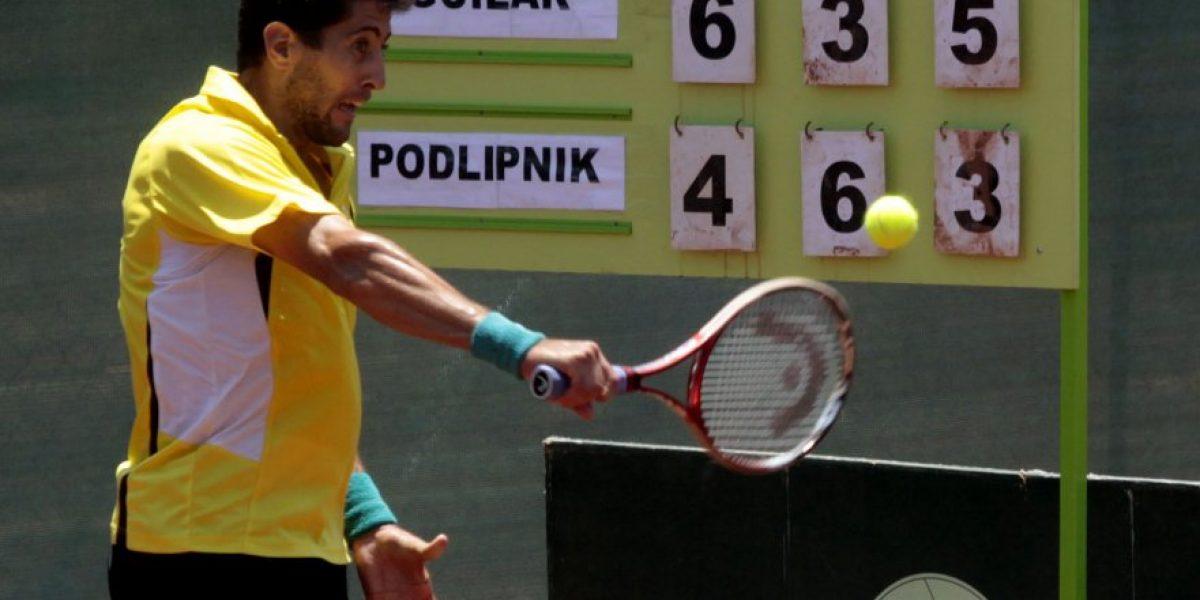 Hans Podlipnik fue eliminado de entrada en el Challenger de Guayaquil