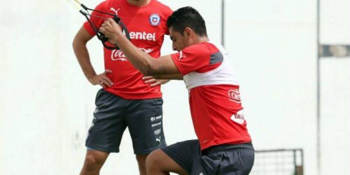 Galería: La Roja entrenó con plantel completo
