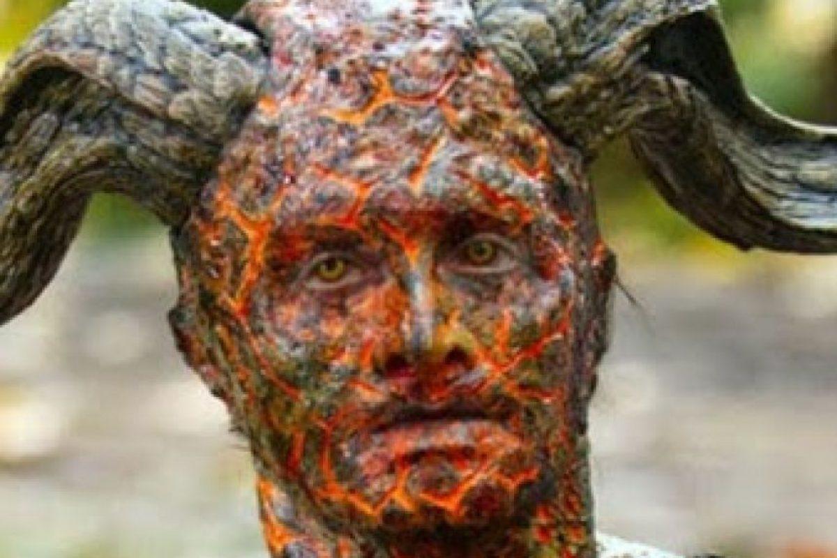 Aquí finalmente vemos los cuernos este personaje. Foto:Google+ /Daniel Radcliffe. Imagen Por: