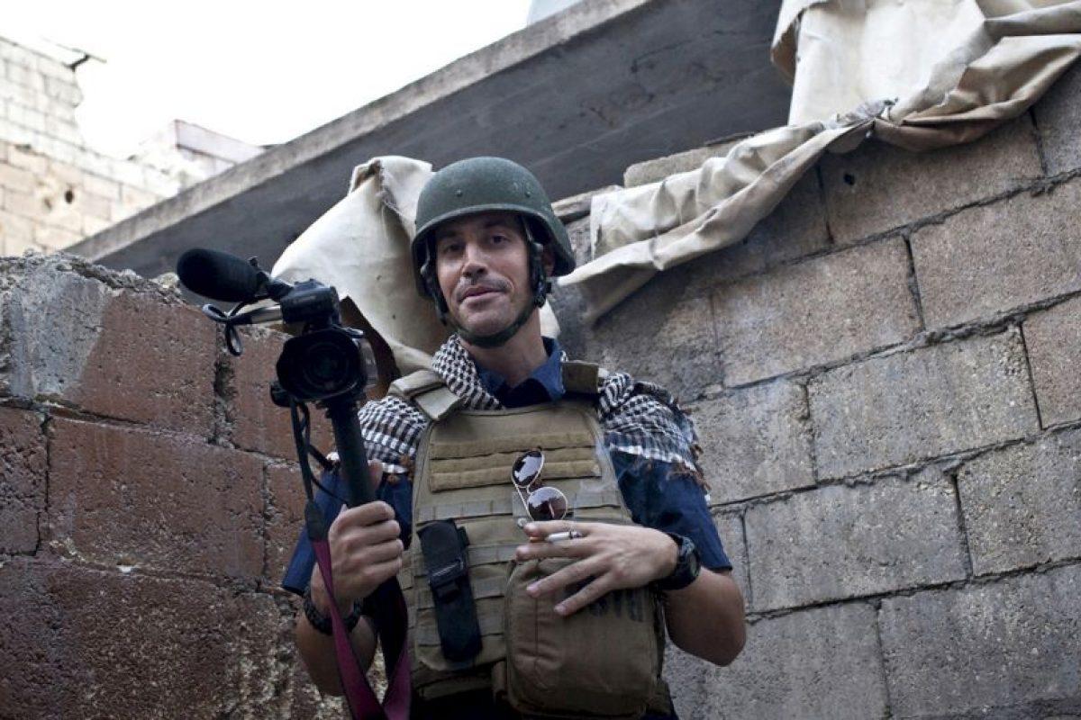 El video de James Foley fue el primero en divulgarse. Foto:AP. Imagen Por:
