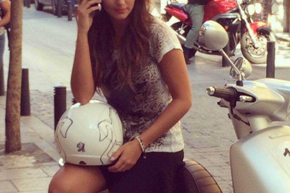 La periodista española ha cubierto el Mundial de MotoGP Foto:Instagram: @laruka. Imagen Por:
