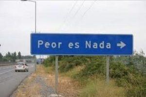 Peor es Nada, Región de O'Higgins. Foto:Twitter @lcruzmorande. Imagen Por: